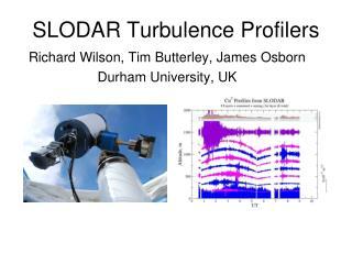 SLODAR Turbulence Profilers