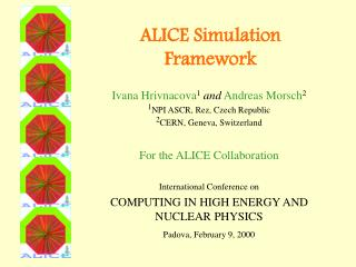ALICE Simulation Framework