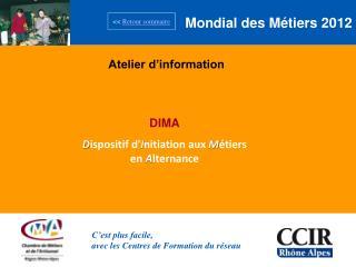 Mondial des Métiers 2012