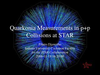 Quarkonia Measurements in p+p Collisions at STAR