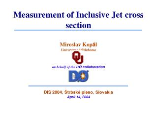 Measurement of Inclusive Jet cross section