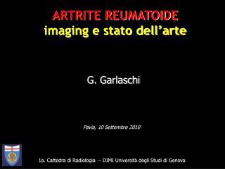 1a. Cattedra di Radiologia  – DIMI Università degli Studi di Genova