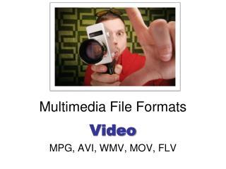 Multimedia File Formats