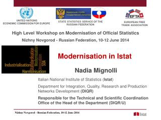 Modernisation in Istat