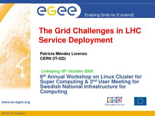 The Grid Challenges in LHC Service Deployment