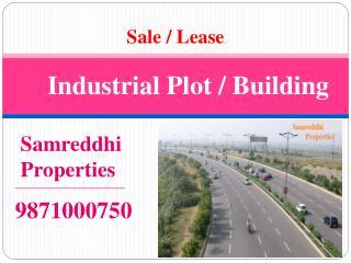 For sale 4000 meter Industrial land in Noida 9871000750