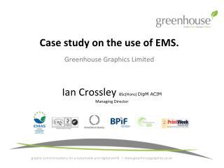 Ian Crossley  BSc(Hons)  DipM ACIM Managing Director