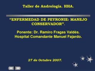 27 de Octubre 2007.