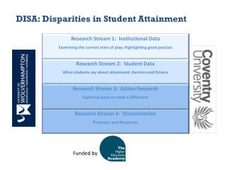 DISA: Disparities in Student Attainment