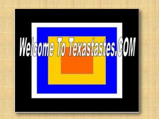 TEXASTASTES.COM - Cooking & Cook Products