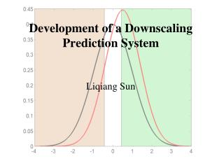 Development of a Downscaling Prediction System  Liqiang Sun