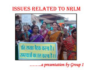 ISSUES RELATED TO NRLM