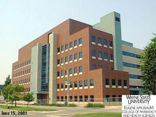 Eugene Applebaum College of Pharmacy and Health Sciences On the Corner of John R. & Mack