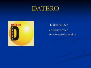 DATERO