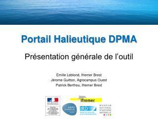 Portail Halieutique DPMA