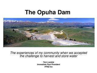 The Opuha Dam