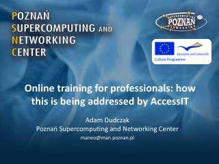 Online training for professionals: how this is being addressed by  AccessIT