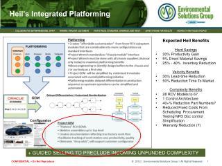 Heil's Integrated Platforming