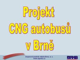 Projekt  CNG autobusů v Brně