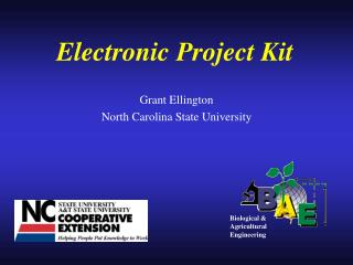 Electronic Project Kit