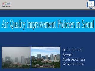 Air Quality Improvement Policies in Seoul