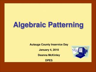 Algebraic Patterning