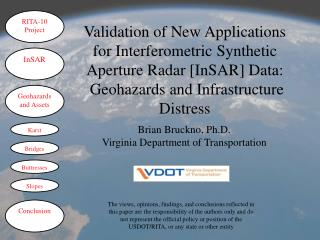 Brian Bruckno, Ph.D. Virginia Department of Transportation