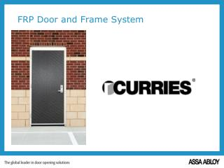 FRP Door and Frame System