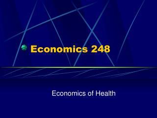 Economics 248