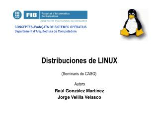Distribuciones de LINUX