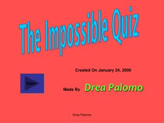 The Impossible Quiz