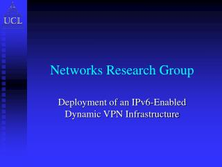 Networks Research Group