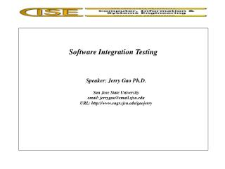 Software Integration Testing