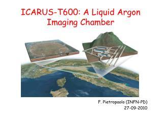 ICARUS-T600: A Liquid Argon Imaging Chamber  Carlo Rubbi F. Pietropaolo (INFN-PD) 27-09-2010