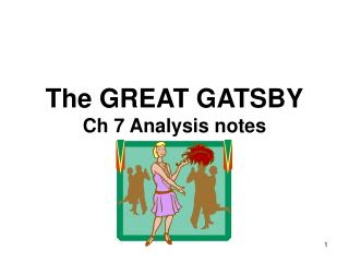 The GREAT GATSBY Ch 7 Analysis notes