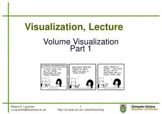Visualization, Lecture