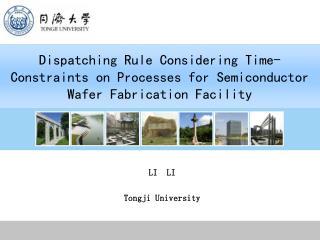LI  LI Tongji University