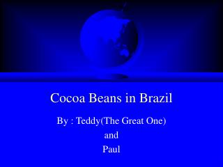 Cocoa Beans in Brazil