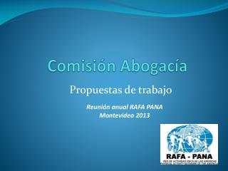 Comisión Abogacía