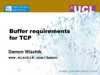 Buffer requirements  for TCP