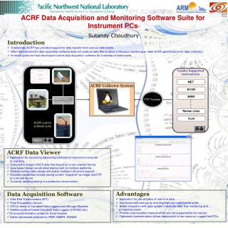 ACRF Data Acquisition and Monitoring Software Suite for Instrument PCs