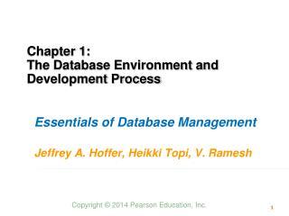 MIS 340:  DB Lecture 1 chap 1