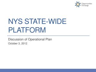 NYS State-Wide Platform