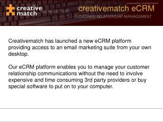 creativematch eCRM