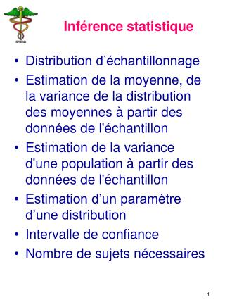 Inf�rence statistique