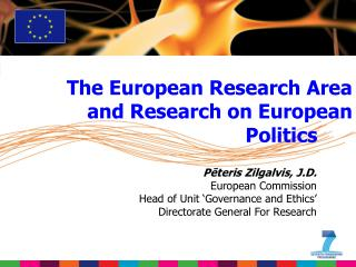 The European Research Area and Research on European Politics