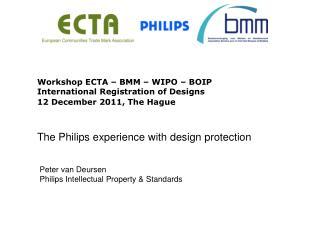 Peter van Deursen Philips Intellectual Property & Standards