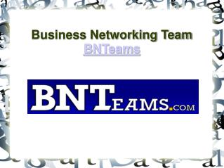 Bnteams - Slide Share
