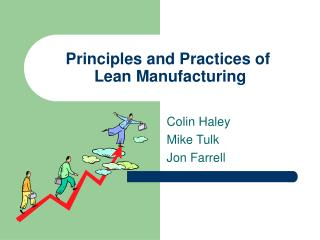 Principles and Practices of  Lean Manufacturing