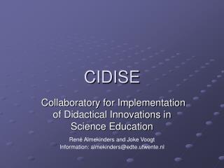 CIDISE
